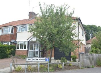 Thumbnail 5 bed semi-detached house for sale in Lennard Road, Dunton Green, Sevenoaks, Kent