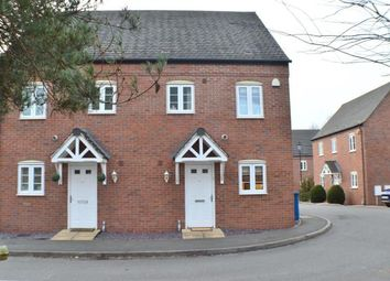 Thumbnail 3 bed semi-detached house for sale in Swan Croft, Whittington, Near Lichfield, Staffordshire