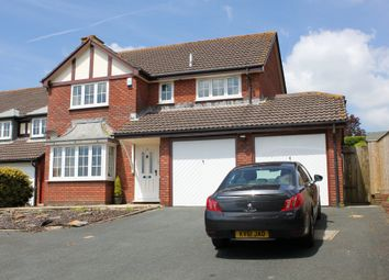 Thumbnail 4 bed detached house to rent in Philip Gardens, Plymstock, Plymouth, Devon