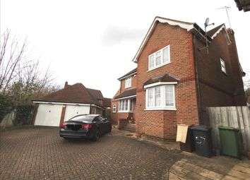 Thumbnail 4 bed detached house to rent in Beechcroft Road, Bushey