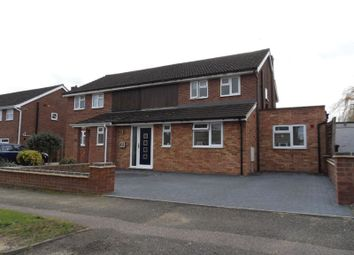 Thumbnail 3 bed semi-detached house for sale in Pipit Rise, Bedford