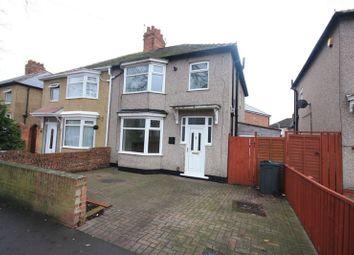 Thumbnail 3 bedroom semi-detached house to rent in Geneva Road, Darlington