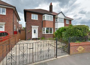 Thumbnail 3 bedroom semi-detached house for sale in Gawsworth Close, Bridge Hall, Stockport