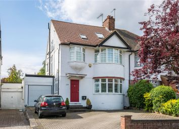 Thumbnail 4 bed semi-detached house for sale in Addington Drive, North Finchley, London