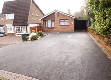 Thumbnail 2 bedroom detached bungalow for sale in St. Christopher Close, West Bromwich