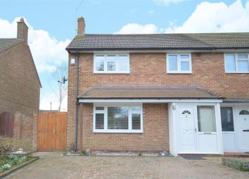 Thumbnail 3 bed town house for sale in Merefield Gardens, Tadworth