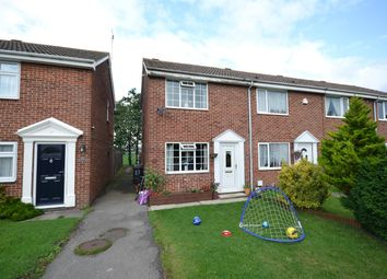 Thumbnail 2 bed terraced house for sale in Fairfax Croft, Copmanthorpe, York