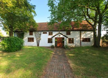 Thumbnail 5 bed farmhouse for sale in Long Road, Silfield, Wymondham