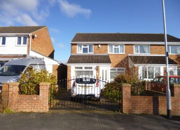 Thumbnail 3 bed semi-detached house to rent in Cragwellside, Darlington