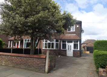 Thumbnail 4 bed semi-detached house for sale in Urmston Lane, Stretford, Manchester, Greater Manchester