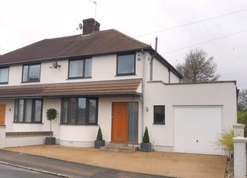 Thumbnail 3 bedroom semi-detached house for sale in Elm Grove, Woburn Sands, Milton Keynes