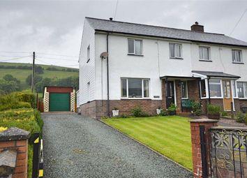 Thumbnail 3 bedroom semi-detached house for sale in 4, Tawelfan, Llan, Llanbrynmair, Powys
