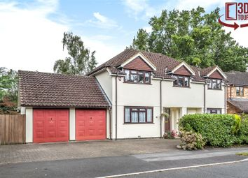 Thumbnail 4 bedroom detached house for sale in Hillary Drive, Crowthorne, Berkshire
