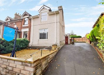 Thumbnail 3 bed semi-detached house for sale in Maunders Road, Milton, Stoke-On-Trent