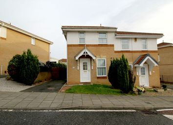 Thumbnail 2 bed semi-detached house for sale in Stapleford Close, Slatyford, Newcastle Upon Tyne