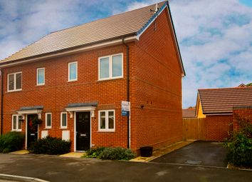 Thumbnail 2 bed semi-detached house for sale in Marlow Place, Spencers Wood, Reading