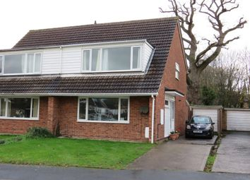 Thumbnail 4 bed semi-detached house for sale in Rosemary Gardens, Hereford