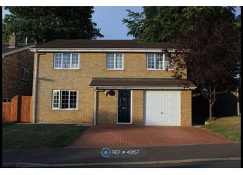 Thumbnail 4 bed detached house to rent in The Lawns, Royston