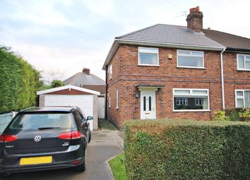 Thumbnail 3 bed semi-detached house for sale in Kaye Avenue, Culcheth, Warrington