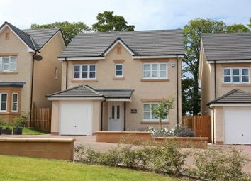 Thumbnail 4 bed detached house for sale in Standalane View, Peebles