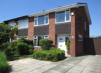 Thumbnail 3 bed semi-detached house for sale in Gwendoline Close, Thingwall, Wirral