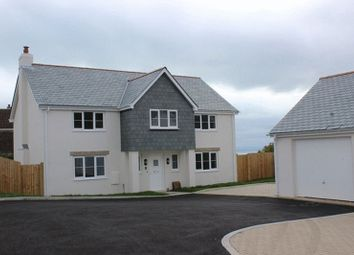 Thumbnail 4 bed detached house for sale in Duporth Farm Close, Duporth, St. Austell
