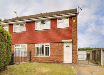 Thumbnail 3 bed semi-detached house for sale in Aldwych Close, Arnold, Nottinghamshire