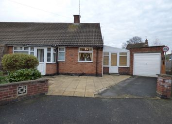 Thumbnail 2 bedroom bungalow for sale in Cottage Row, Braunstone Town