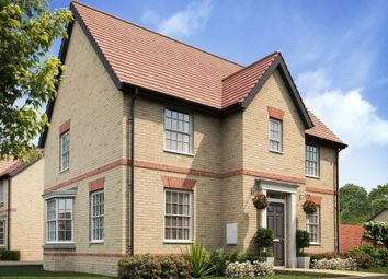 "Thumbnail 4 bedroom detached house for sale in ""Hollinwood"" at Caistor Lane, Poringland, Norwich"