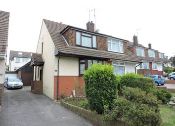 Thumbnail 2 bedroom semi-detached house to rent in Graham Avenue, Portslade, Brighton