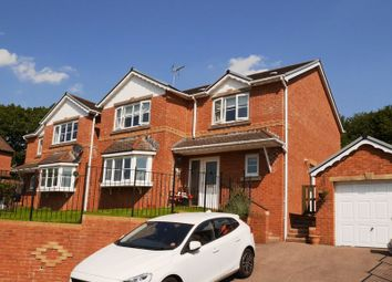 Thumbnail 4 bed detached house for sale in The Meadows, Coed Ely, Tonyrefail, Porth