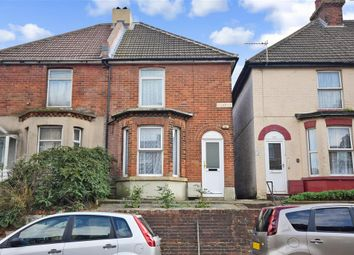 Thumbnail 2 bed semi-detached house for sale in Cheriton High Street, Folkestone, Kent