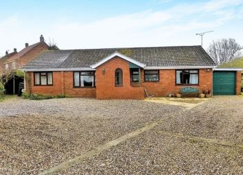 Thumbnail 3 bed detached bungalow for sale in Church Road, Catfield, Great Yarmouth