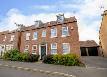 Thumbnail 5 bed detached house for sale in Senator Close, Hucknall, Nottinghamshire