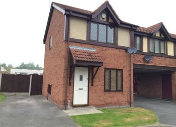 Thumbnail 2 bed semi-detached house to rent in Glamorgan Close, St. Helens