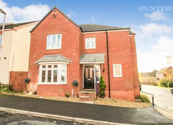 Thumbnail 4 bed detached house for sale in Burtree Drive, Stoke-On-Trent