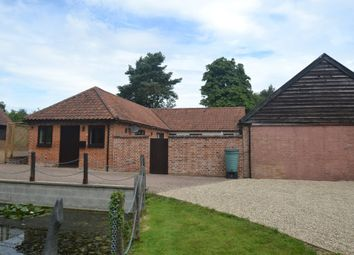 Thumbnail 2 bedroom barn conversion for sale in Hintlesham, Ipswich