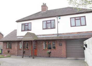 Thumbnail 5 bed detached house for sale in Ashby Road, Bretby, Burton-On-Trent