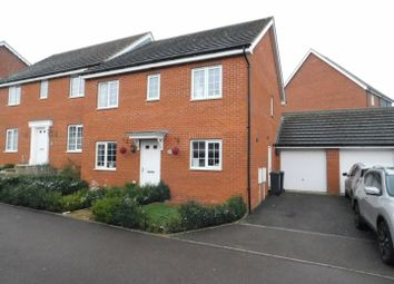 Thumbnail 4 bed semi-detached house for sale in Guillemot Close, Stowmarket
