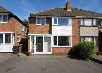 Thumbnail 3 bed semi-detached house to rent in Studley Croft, Solihull