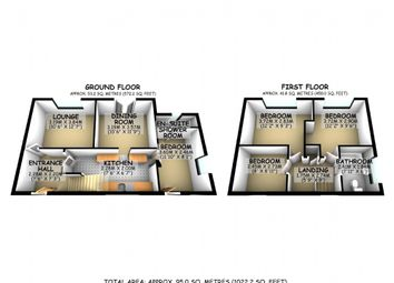 Thumbnail 4 bed semi-detached house for sale in Beech Road, Newport Pagnell, Buckinghamshire