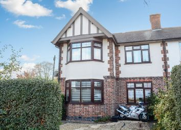 Thumbnail 3 bed semi-detached house for sale in Fosse Road South, Westcotes, Leicester