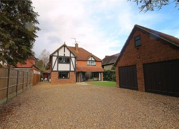Thumbnail 4 bedroom detached house to rent in Ambleside Road, Lightwater, Surrey