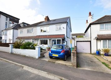 Thumbnail 3 bed semi-detached house for sale in Victoria Road, Hythe, Kent