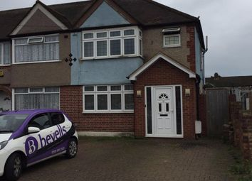 Thumbnail 4 bed semi-detached house to rent in Selan Gardens, Hayes