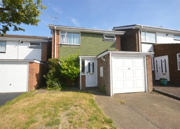 Thumbnail 3 bed detached house for sale in Hillcroft, Dunstable