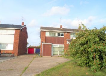 Thumbnail 3 bed semi-detached house to rent in Austin Road, Woodley, Reading