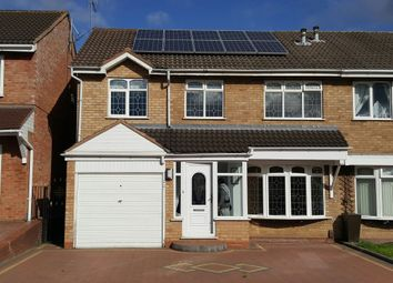 Thumbnail 4 bed semi-detached house to rent in Bewley Road, Willenhall, West Midlands