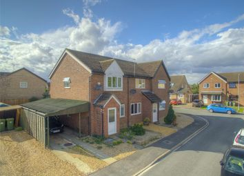 Thumbnail 2 bed terraced house for sale in Stanch Hill Road, Sawtry, Huntingdon, Cambridgeshire