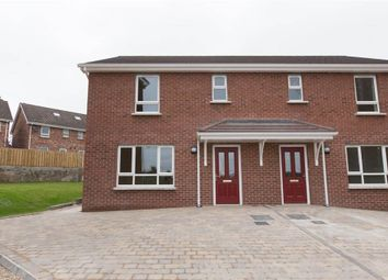 Thumbnail 3 bedroom semi-detached house for sale in 54, Danesfort Park, Carryduff